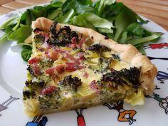 Ma tarte salée brocolis & lardons