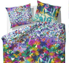 Essenza Inez duvet set with matching housewife pillowcases. £50.00