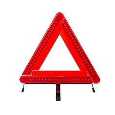 Autvivid Led Safety Warning Triangle Reflector  Inch Emergency Road Flasher Check More At