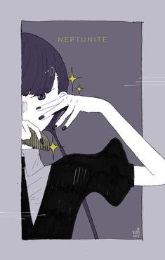 Manga, Character Art, Character Design, Vaporwave Art, Arte Sketchbook, Goth Art, Otaku, Aesthetic Art, Tumblr