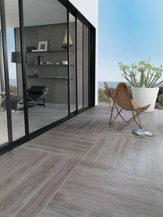 Like the pattern using these Hampton Grey,Floor Tiles,Parker Porcelain Wood Look… Balcony Tiles, Balcony Flooring, Deck Tile, Patio Tiles, Outdoor Tiles, Outdoor Flooring, Concrete Patio, Flooring Ideas, Ceramic Wood Tile Floor