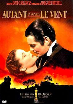 Autant en emporte le vent (Gone with the Wind) est un film américain de Victor Fleming réalisé en 1939 https://fr.wikipedia.org/wiki/Autant_en_emporte_le_vent_(film)