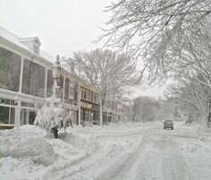 1/27/15 Main street Nantucket during Juno