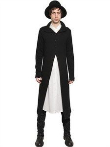 Ann Demeulemeester - Wool Angora Knit Long Cardigan | FashionJug.com