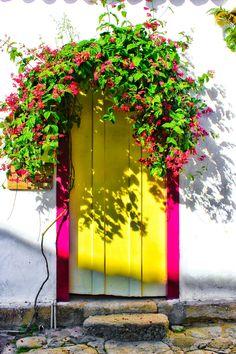 The door - streets of Paraty, Brazil