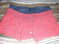 crochet shorts free pattern