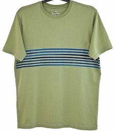Tommy Bahama T Shirt Cotton Relax Island Modern Fit Short Sleeve Tee Green L  #TommyBahama #BasicTee