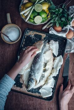 Salt Baked Lemongrass Sea Bass | Jet & Indigo