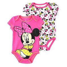 Minnie Mouse Baby 2 pack Bodysuit Set (0/3M, Pink Minnie Mouse) Disney http://www.amazon.com/dp/B00U0FPKCS/ref=cm_sw_r_pi_dp_ZQm-ub1D2P964