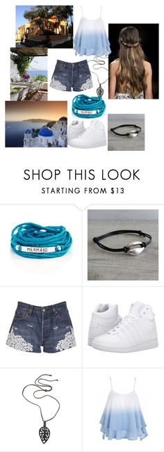 """""""trip to greece"""" by narniangirleva ❤ liked on Polyvore featuring Blooming Lotus Jewelry, Forte Couture, K-Swiss and NOVICA"""