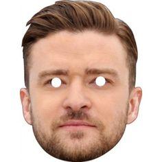 Justin Timberlake Celebrity Face Mask 651