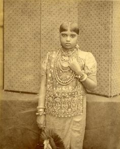 Kandyan Woman Old Ceylon