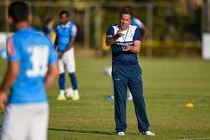 Luxa refuta protagonismo entre ele e Marcelo Oliveira no duelo de domingo #globoesporte