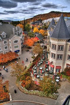 Tremblant, Quebec. Version Voyages, www.versionvoyages.fr                                                                                                                                                     Plus