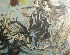 Salvador Dali, Triumph of the Sea, Lithograph on Paper, Limited Edition