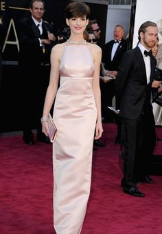 abito color rosa pallido firmato Prada