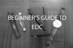 What is Everyday Carry (EDC)?   The Art of Manliness