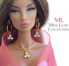Fashion Doll Jewelry Swarovski Crystal