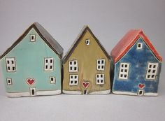 Love+Lives+HereGiant++Miniature+House+in+Brown+by+elukka+on+Etsy