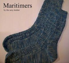 Ravelry: Maritimers Socks pattern by Sarah Wilson (have pattern)