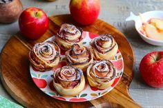 Roses de pommes Doughnut, Cheesecake, Muffin, Brunch, Breakfast, Desserts, Food, Cooker Recipes, Sweet Pie