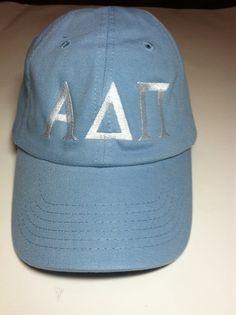 Alpha Delta Pi Sorority Cap ADPI hat