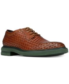 Donald Pliner Men's Eloi Woven Leather Oxfords Men's Shoes yW7OdZ1
