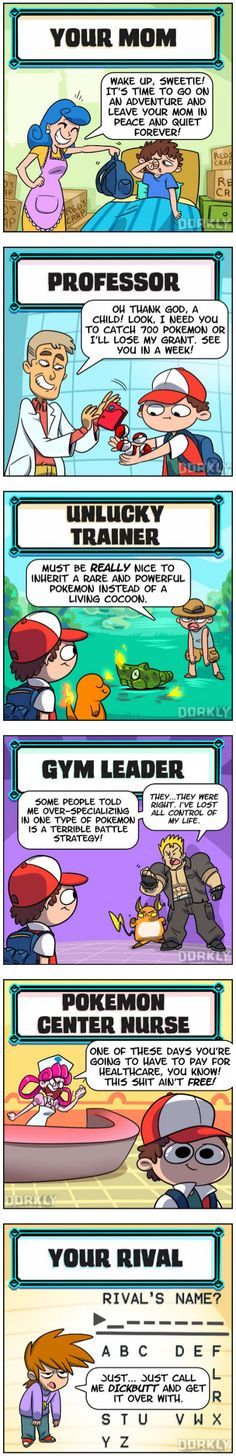 Pokemon NPCs You See In Every Game
