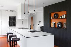 Modernt kök. Modell: Solid, Färg: White velvet Kitchen, Table, Furniture, Home Decor, Cooking, Decoration Home, Room Decor, Kitchens, Tables