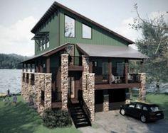 fachada casa 3 pisos