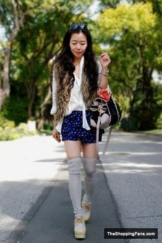 jeffrey campbell shoes miu miu bag forever 21 shorts  The Shopping Fans