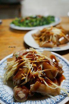 pig tail #Taiwanese cuisine