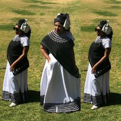 African Traditional Wedding Dress, African Fashion Traditional, Traditional Weddings, Traditional Outfits, African Wedding Attire, African Attire, African Wear, African Dress, Xhosa Attire