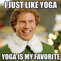 YES.BUDDY. Image via @yogimemes #yoga #buddylovesyoga #yogamemes #yogaeverydamnday by thatyogaword
