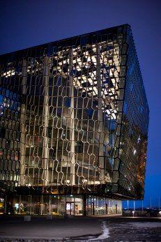 Harpa concert hall #icelandtravel #reykjavik