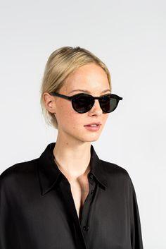 48e2be0bda5c52 N°2 x Garrett Leight Sunglasses, Black by Thierry Lasry  sunglasses   thierrylasry
