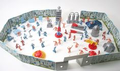 marx 50's space patrol toy