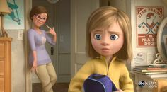 Pixar Post - For The Latest Pixar News: Watch a Clip From 'Riley's First Date' - Confirmed Bonus Feature on the 'Inside Out' Digital HD/Blu-ray Release Inside Out Riley, Disney Inside Out, Disney And Dreamworks, Disney Pixar, Disney Characters, Disney Memes, Disney Cartoons, Moving To San Francisco, Fall Swags