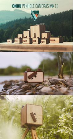 The smartphone has made everyone and their mother a photographer, but the ONDU Pinhole Cameras Mk II are a fresh take on an old technology that will actually put your skills to the test. Crafted from locally harvested, FSC certified walnut and maple wood with laser engraved details, its both functional and ornamental.  #Camera #Technology #Photography #Yankodesign