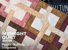 Free Quilt Pattern: The Midnight Quilt Show