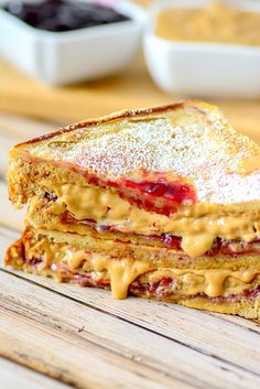 Fried Peanut Butter and Jelly Sandwich, a new twist on this favorite classic (psst, try syrup on it like french toast!)