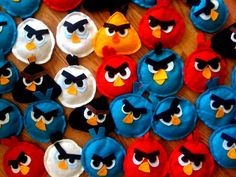 ANGRY BIRDS BEANBAGS artrageousafternoon