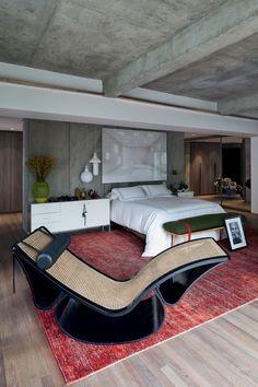 A chaise-longue Rio! Oscar Niemeyer