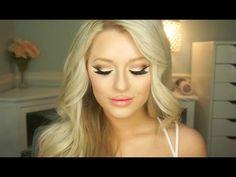 Kat Von D Shade Light Eye Palette Tutorial | Matte Smokey Cat Eye - YouTube
