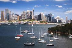Sydney Harbour and CBD, Australia