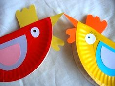 Paper Plate Hens!                                                                                                                                                                                 More