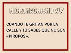 Micromachismo #7