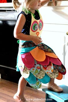 My Little Owl Apron & Confession