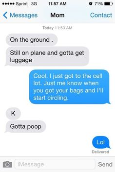 This mom who has no boundaries… | 29 Parents Who Are Clearly Way Better At Texting Than Their Kids