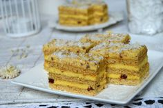 Prajitura vis de decembrie | MiremircMiremirc Krispie Treats, Rice Krispies, Cloud Bread, Cake Recipes, French Toast, Cheesecake, Cookies, Breakfast, Desserts